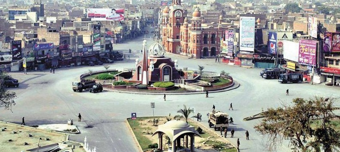 Multan-Photos-Ghanta-Ghar-Chowk-Multan-renovated-Multan-Pics